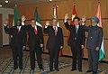 Manmohan Singh, the President of China, Mr. Hu Jintao, the President of Mexico, Mr. Felipe Calderon Hinojosa, the President of Brazil, Mr. Luis Inacio Lula Da Silva and the President of South Africa.jpg
