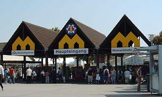 Mannheim May Market - Main entrance (2006)