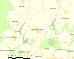 Map commune FR insee code 21391.png