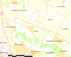 Map commune FR insee code 31136.png