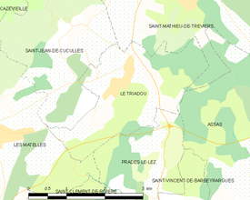 Map commune FR insee code 34314.png