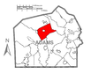 Map of Butler Township, Adams County, Pennsylvania Highlighted.png