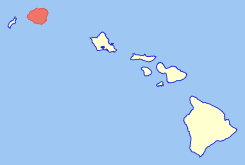 Map of Hawaii highlighting Kauai.svg