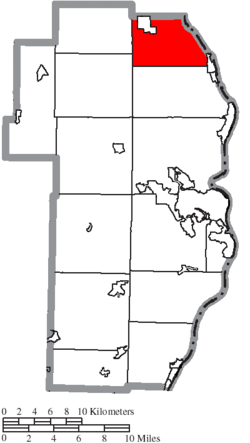 Location of Saline Township in Jefferson County