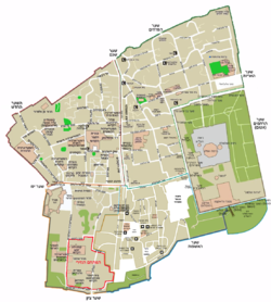 Map of Jerusalem - the old city.png