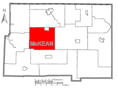 Map of McKean County Highlighting Lafayette Township.PNG