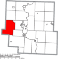 Map of Muskingum County Ohio Highlighting Hopewell Township.png
