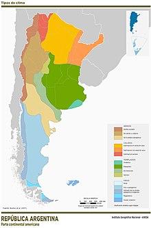 220px Mapa Argentina Tipos clima IGN