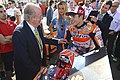 Marc Márquez and Juan Carlos I 2015 Valencia.jpeg
