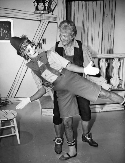 Marcel marceau red skelton in 1965