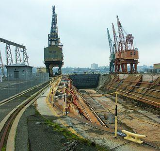 Mare Island Naval Shipyard - Mare Island Drydock No. 1