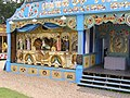 Marenghi 98 key Peacock organ & replica bioscope, Hollycombe, Liphook 3.8.2004 P8030105 (10354107465).jpg