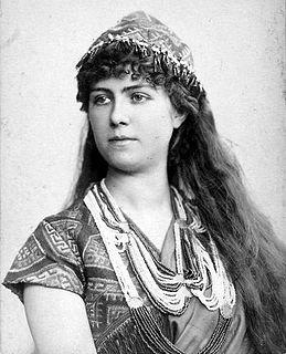 Marie van Zandt American soprano