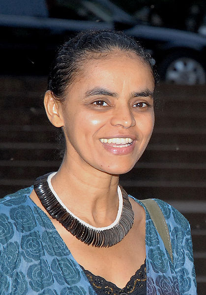 Marina Silva (pic by Agência Brasil under the Creative Commons Attribution 2.5 Brazil)