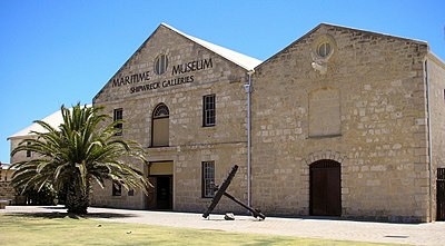 The WA Shipwrecks Museum, also known as the Shipwreck Galleries of the WA Maritime Museum