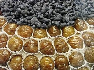 Marron glacé - Image: Marrons glacés