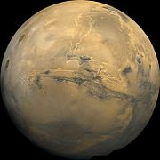 Mars Valles Marineris