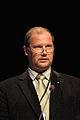 Mart Jussi parlamentariker fran Estland talar vid BSPC-s mote i Visby 2008-09-01.jpg