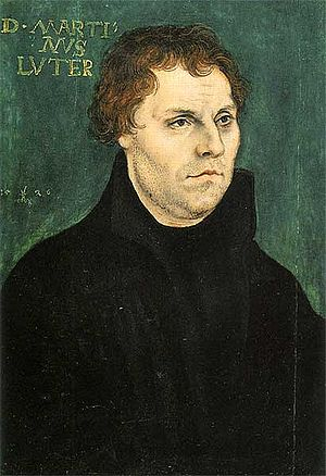 Katharina von Bora - Martin Luther, also by Lucas Cranach the Elder
