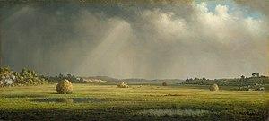 Spartina patens - Newburyport Meadows, c. 1872–1878, by Martin Johnson Heade