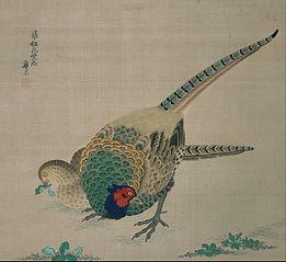 Hanging Scroll (pair of pheasants)
