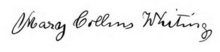 Mary Collins Whiting signature.png