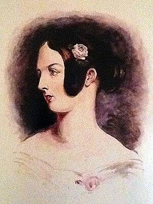 Mary Hogarth - Portrait of Hogarth aged 16