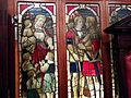 Masonic Lodge stained glass, Town, Beamish Museum, 25 January 2014.jpg