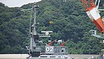 Mast of JMSDF YT-02 right side view at Maizuru Naval Base July 29, 2017.jpg