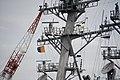 Mast of USS Benfold (DDG-65) left front view at U.S. Fleet Activities Yokosuka April 30, 2018 02.jpg