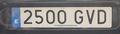 Matrícula automovilística España 2000 2500 GVD.png