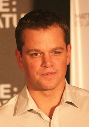 Ivy League (haircut) - Matt Damon sporting an Ivy League haircut.