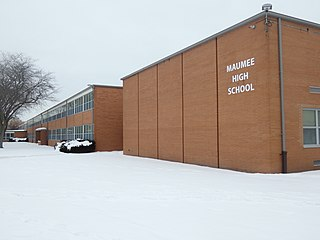 Maumee High School (Ohio) Public, coeducational high school in Maumee, Ohio, United States