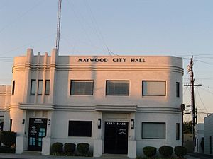 Maywood, California - City Hall