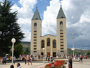 St. James Church in Međugorje.