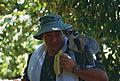 Me and a Ring-tailed Lemur (Lemur catta) (9632022320).jpg