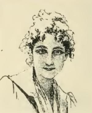 Madeleine Carpentier - Self-portrait of Carpentier