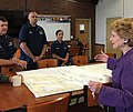 Meeting with officials at Coast Guard Station St. Ignace. (27955133763).jpg