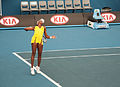 Melbourne Australian Open 2010 Venus Serve.jpg