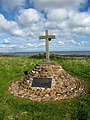 Memorial at Chapel Point, Skateraw - geograph.org.uk - 171242.jpg