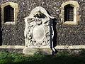 Memorial at rear of St Mary of Charity, Faversham (2967131582).jpg