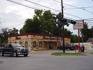 Record shop - A stand-alone record shop in Houston, Texas