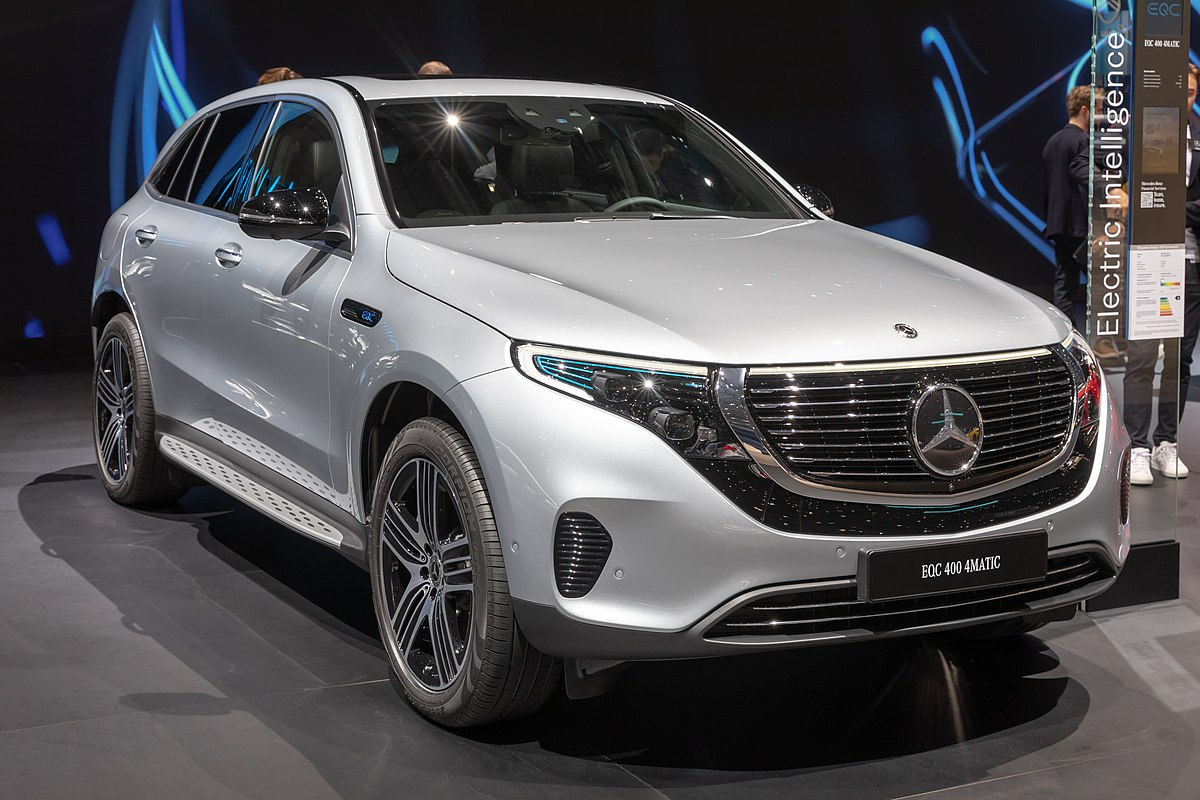 Mercedes Suv Models >> Mercedes-Benz EQC - Wikipedia