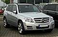 Mercedes-Benz GLK-Klasse BlueEFFICIENCY (X 204) – Frontansicht, 19. Mai 2011, Velbert.jpg