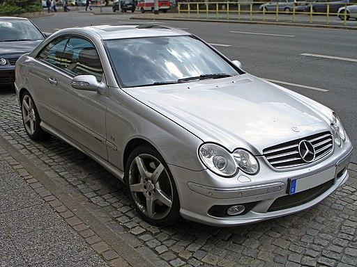 Mercedes CLK 500 C209 front