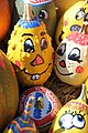 Mering, painted pumpkins and squashes 003.JPG
