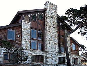 National Register of Historic Places listings in Monterey County, California - Image: Merrill Hall Asilomar edit 1