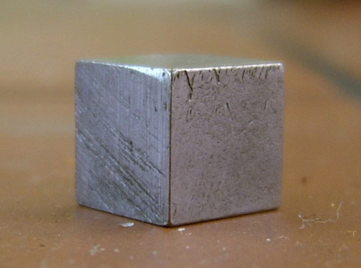 Metal cube tin