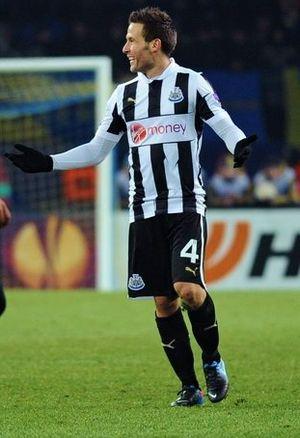 Yohan Cabaye - Cabaye playing for Newcastle United.