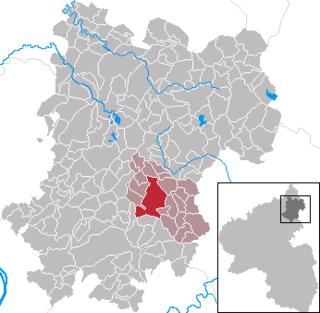 Meudt Place in Rhineland-Palatinate, Germany